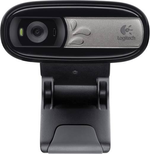 Logitech C170 Webcam 640 x 480 Pixel Standfuß, Klemm-Halterung