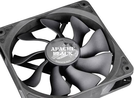 Akasa PC-Lüfter Apache 12 cm PWM Schwarz