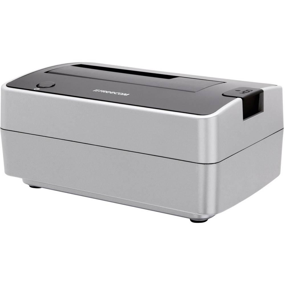eSATA, FireWire 400, USB 2.0 SATA 1 port HDD docking station Freecom ...