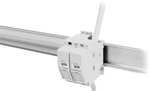 Netzwerkdose Hutschiene CAT 6a Metz Connect 130B117003-E Lichtgrau (RAL 7035)