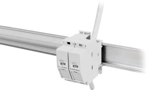 Netzwerkdose Hutschiene CAT 6a Metz Connect 130B127003-E Lichtgrau (RAL 7035)