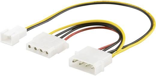 PC-Lüfter-Adapterkabel 4pol./3pol. 10 cm