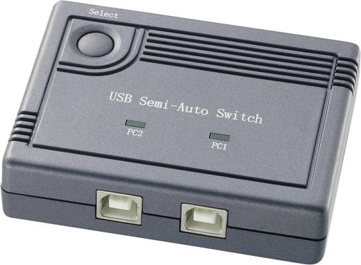 "CE Elektronischer USB-Umschalter ""Komfort"" (2 Port)"