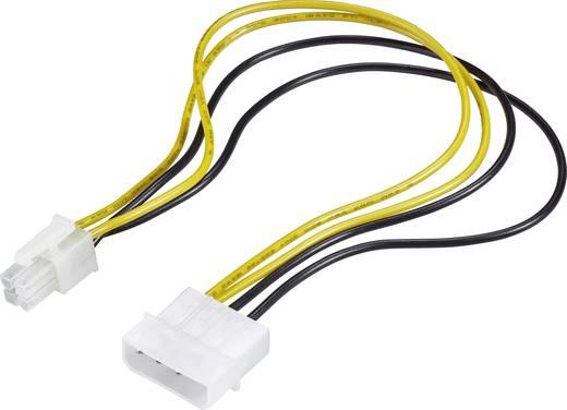 Strom Anschlusskabel [1x ATX-Stecker 4pol. - 1x IDE-Strom-Stecker ...
