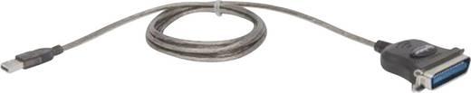 USB 1.1 Anschlusskabel [1x USB 1.1 Stecker A - 1x Centronics-Stecker] 1.80 m Grau Manhattan