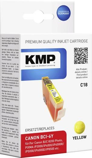KMP Tinte ersetzt Canon BCI-6 Kompatibel Gelb C18 0958,0009