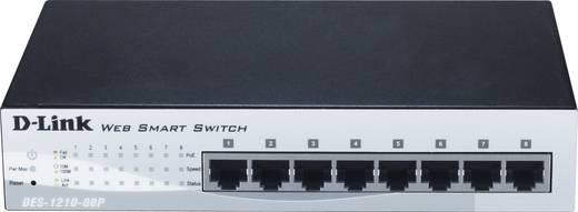 Netzwerk Switch RJ45 D-Link DES-1210-08P 8 Port 100 MBit/s PoE-Funktion