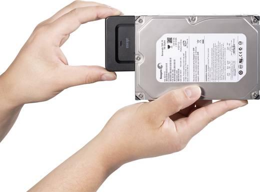 Festplatten Adapter [1x USB 3.0 Stecker A - 1x SATA-Kombi-Stecker 7+15pol.] 1 m Schwarz Akasa