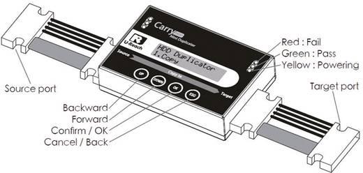 1fach Festplatten-Kopierstation U-Reach PRO118 SATA mit Löschfunktion, tragbar