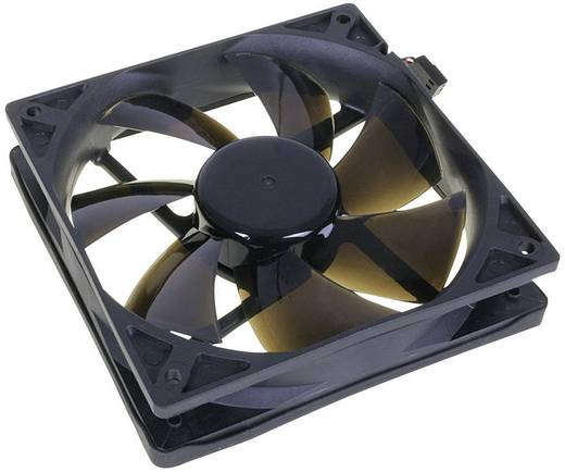 NoiseBlocker BlackSilent Pro PC-Gehäuse-Lüfter Schwarz (B x H x T) 120 x 120 x 25 mm
