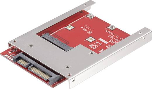 Schnittstellen-Konverter [1x SATA-Kombi-Stecker 7+15pol. - 1x mSATA-Buchse] 28554C146