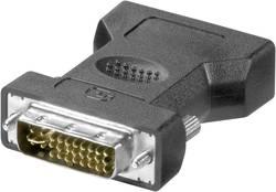 DVI / VGA adaptér Goobay 68030, [1x DVI zástrčka 24+5pólová - 1x VGA zásuvka], černá