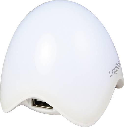 LogiLink UA0123 4 Port USB 2.0-Hub Weiß