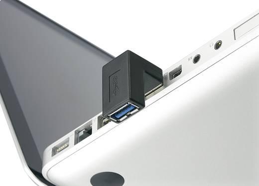 Renkforce USB 3.0 Adapter A-Stecker zu A-Buchse 90° nach unten gewinkelt