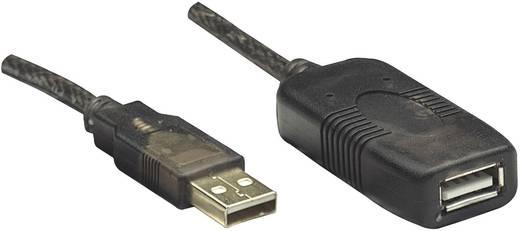 Manhattan USB 2.0 Verlängerungskabel [1x USB 2.0 Stecker A - 1x USB 2.0 Buchse A] 20 m Schwarz