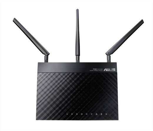 Asus RT-N66U WLAN Router 2.4 GHz, 5 GHz 900 MBit/s