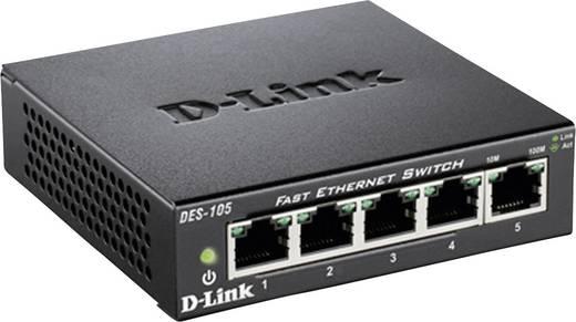 D-Link DES-105 Netzwerk Switch RJ45 5 Port 100 MBit/s