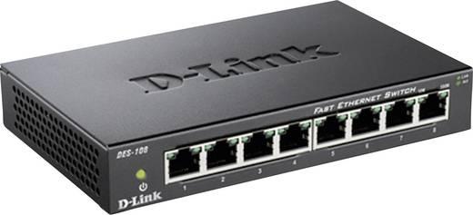 Netzwerk Switch RJ45 D-Link DES-108 8 Port 100 MBit/s