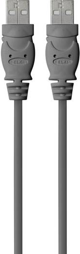 Belkin USB 2.0 Anschlusskabel [1x USB 2.0 Stecker A - 1x USB 2.0 Stecker A] 1.8 m Schwarz UL-zertifiziert