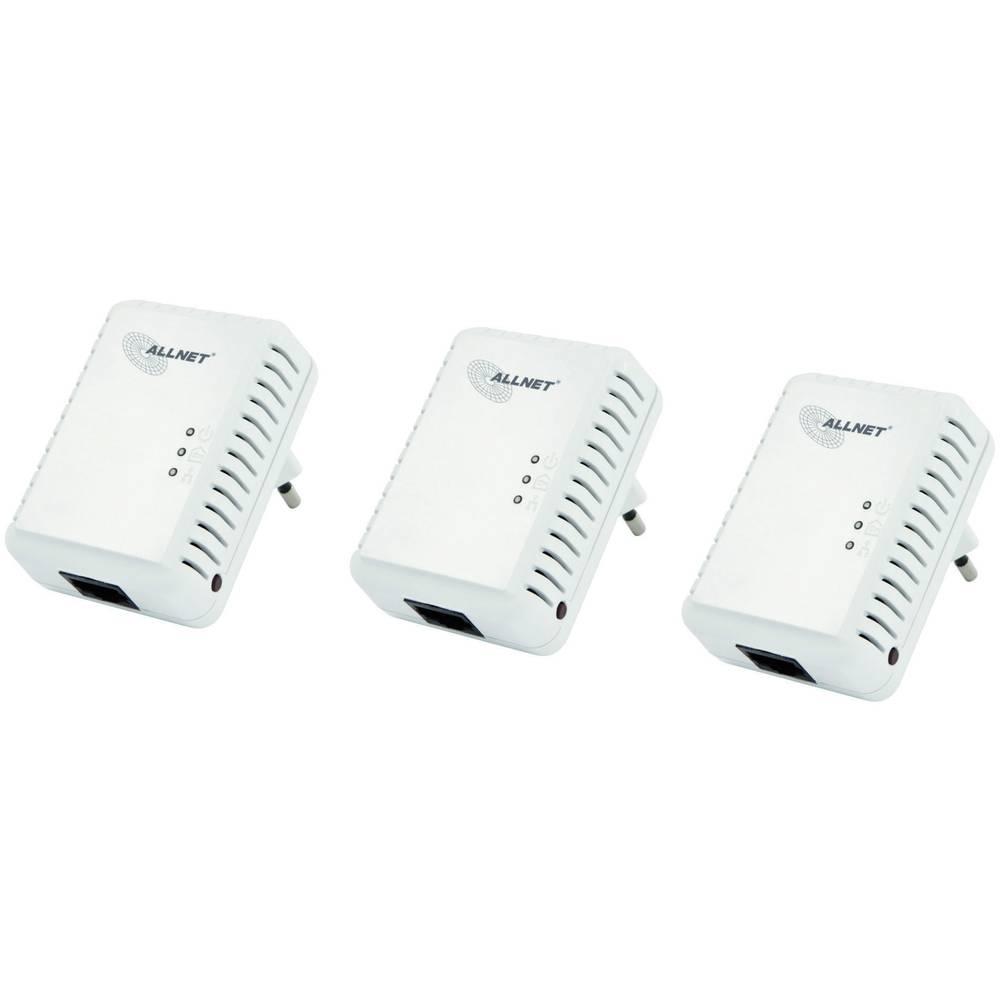 Powerline Network Kit 500 MBit/s Allnet ALL168250TRIPLE im Conrad ...