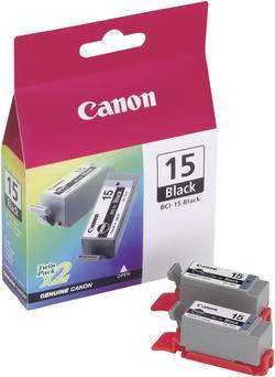 Image of Canon Tinte BCI-15 Original Schwarz 8190A002