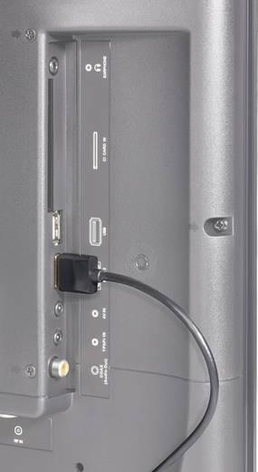 SpeaKa Professional HDMI Anschlusskabel [1x HDMI-Stecker - 1x HDMI-Stecker] 0.2 m Schwarz