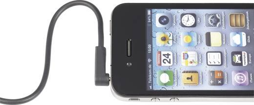 Klinke Audio Anschlusskabel [1x Klinkenstecker 3.5 mm - 1x Klinkenstecker 3.5 mm] 1 m Schwarz vergoldete Steckkontakte,