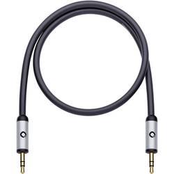 Jack audio prepojovací kábel Oehlbach 60017, 5.00 m, čierna