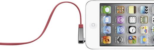 Klinke Audio Anschlusskabel [1x Klinkenstecker 3.5 mm - 1x Klinkenstecker 3.5 mm] 0.90 m Rot hochflexibel Belkin