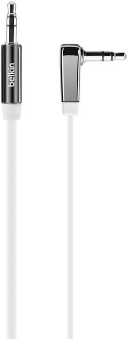 Připojovací kabel Belkin, jack zástr. 3.5 mm/jack zástr. 3.5 mm, bílý, 0,9 m