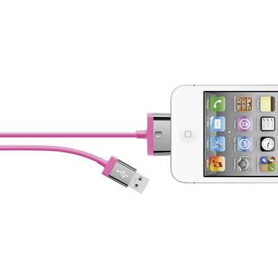 Belkin iPad/iPhone/iPod Datenkabel/Ladekabel [1x USB 2.0 Stecker A - 1x Apple Dock-Stecker Preisvergleich