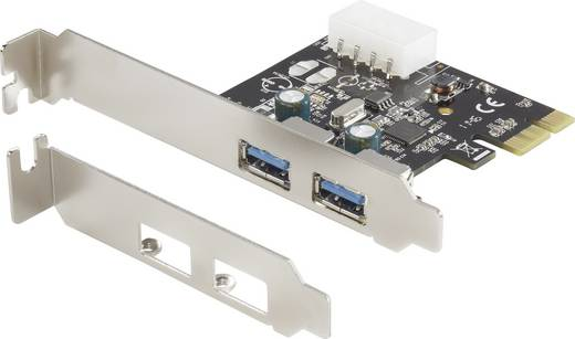 2 Port USB 3.0-Controllerkarte USB-A PCIe
