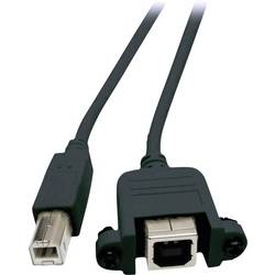 USB 2.0 predlžovací kábel EFB Elektronik K5293SW.0,5V2, 0.5 m, čierna