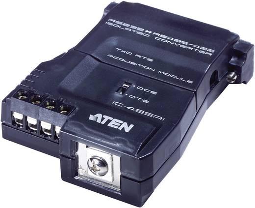 Seriell Adapter [1x D-SUB-Buchse 25pol. - 1x 4pol Schraubklemme (RS-422 / RS-485) Erdungsanschluss] 0 m Schwarz ATEN