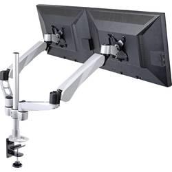 """Stolový držiak monitoru SpeaKa Professional SP-3947568, 25,4 cm (10"""") - 68,6 cm (27""""), čierna, strieborná"""