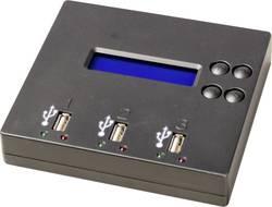 2násobná USB kopírovací stanice Renkforce UB300 USB 2.0 přenositelná