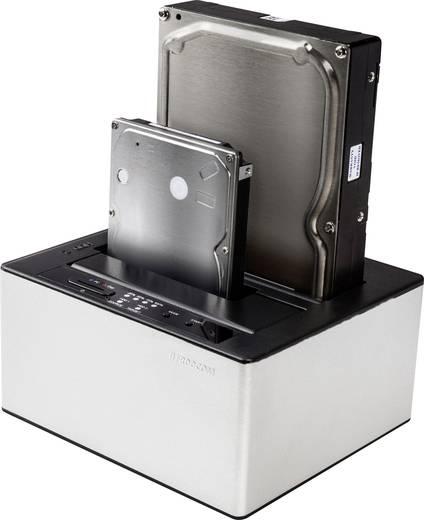 Freecom 56136 USB 3.0 SATA 2 Port Festplatten-Dockingstation mit Clone-Funktion