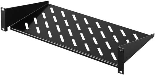 19 Zoll Netzwerkschrank-Geräteboden 2 HE Rittal 5501.625 Festeinbau Geeignet für Schranktiefe: ab 450 mm Schwarz