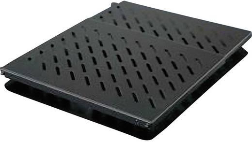 19 Zoll Netzwerkschrank-Geräteboden 0.5 HE Rittal 5501.655 Ausziehbar Geeignet für Schranktiefe: ab 600 mm Schwarz