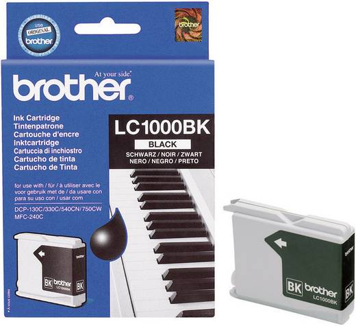 Brother Tinte LC-1000BK Original Schwarz LC1000BK