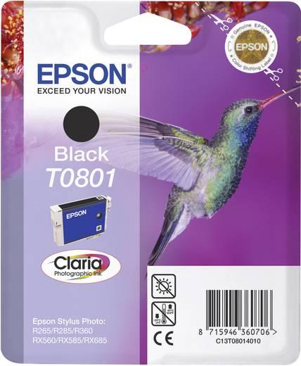 Epson Tinte T0801 Original Schwarz C13T08014011