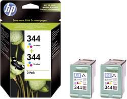 Cartridge do tiskárny HP C9505EE (344), cyanová, magenta, žlutá, 2 ks