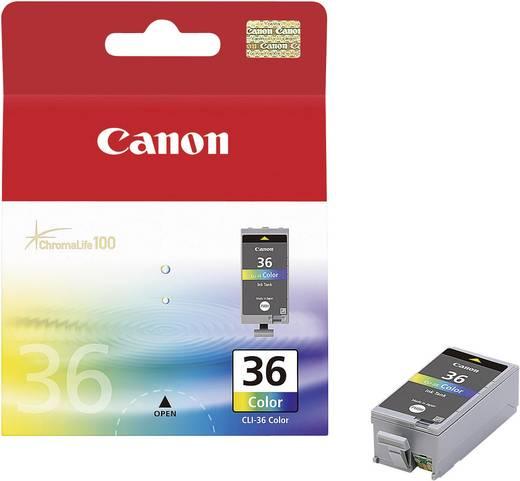 Canon Tinte CLI-36 Original Cyan, Magenta, Gelb 1511B001