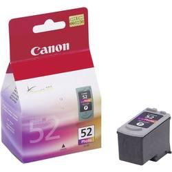 Náplň do tlačiarne Canon CL-52 0619B001, foto purpurová, purpurová, čierna