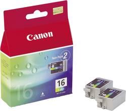 Cartridge Canon BCI-16C, 9818A002, cyanová/magenta/žlutá