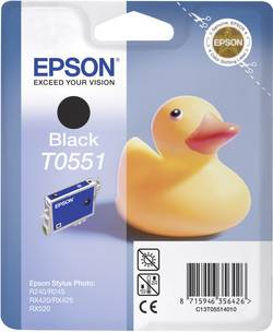 Cartridge do tiskárny Epson T0551, C13T05514010, černá