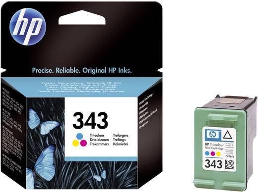 HP Tinte 343 Original Cyan, Magenta, Gelb C8766EE
