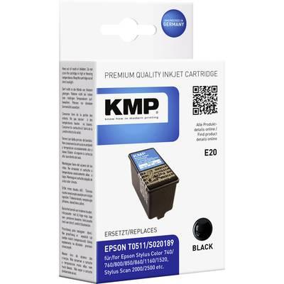 KMP Tinte ersetzt Epson T0511 Kompatibel Schwarz T0511 0966,0001 Preisvergleich