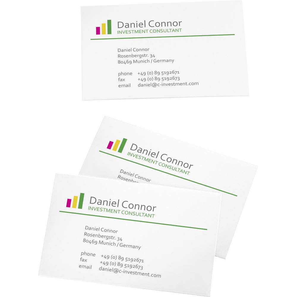 Printable business cards smooth edge sigel lp790 85 x 55 mm 19 printable business cards smooth edge sigel lp790 85 x 55 mm 19 reheart Images