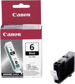 Image of Canon Tinte BCI-6BK Original Schwarz 4705A002